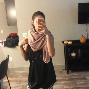 Pink scarf! Tags still on